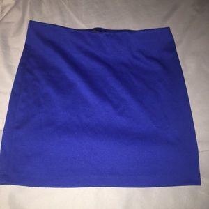 Blue Guess mini skirt - size S